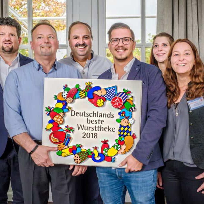 Foto: Frank Seifert Deutschlands beste Wursttheke 2018, Wiltmann, Lafer Stromburg