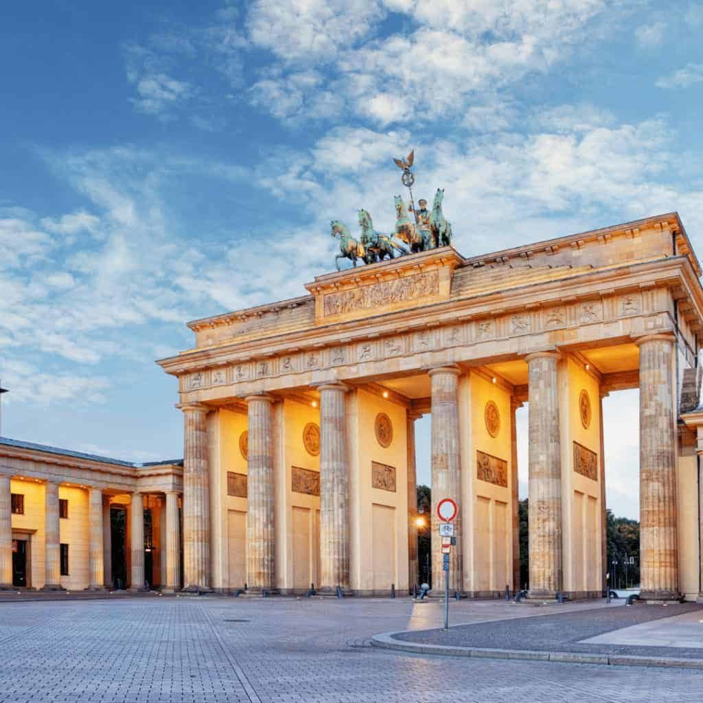 Tag der Deutschen Einheit am Brandenburger Tor